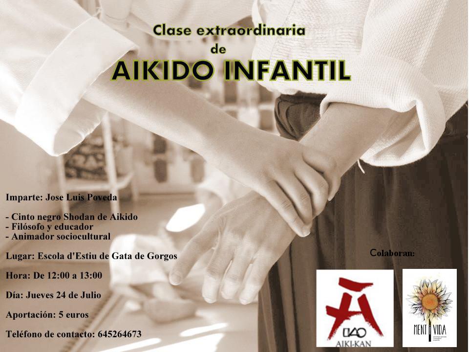 Clase extraordinaria de Aikido infantil José Luis Poveda