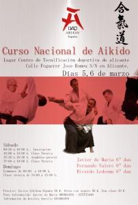 Aikido Alicante Javier de María Ricardo Ledesma Fernando Valero